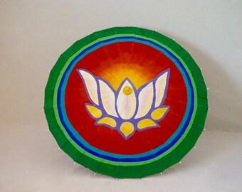 Sacred Geometry, Yoga, Parasol, Lotus Flower Wonderella