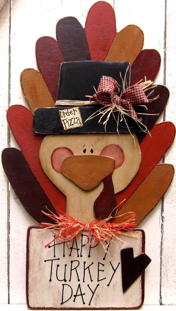 Like this item? & Thanksgiving Turkey Yard Sign Turkey Door Hanger Thanksgiving Pezcame.Com