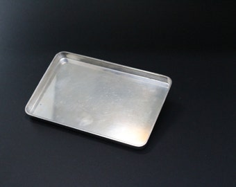 RARE Heavy Sterling Silver Danish Signed C.C. Hermann Jewelry Serving Minimalist Tray