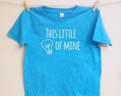 This Little Light of Mine Baby or Toddler Tshirt - Christian Toddler Tee - Kids Bible Shirt