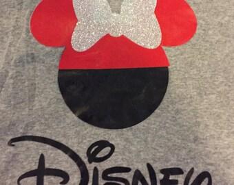 Custom Disney Iron On Vinyl (T SHIRT NOT INCLUDED)