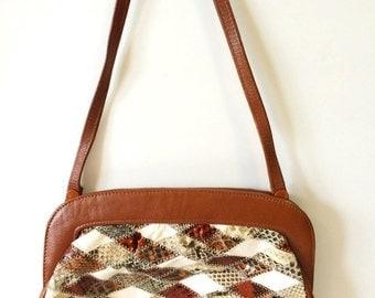 Jane Shilton Snakeskin Handbag