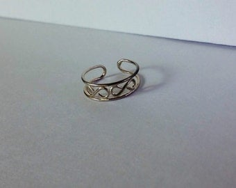 Sterling Silver Toe Ring 925 Your Choice