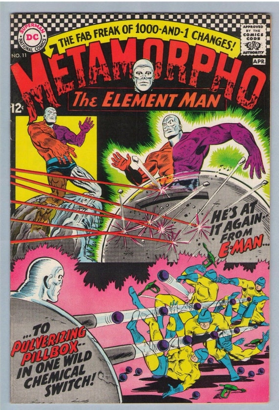 Metamorpho 11 Apr 1967 VF (8.0)