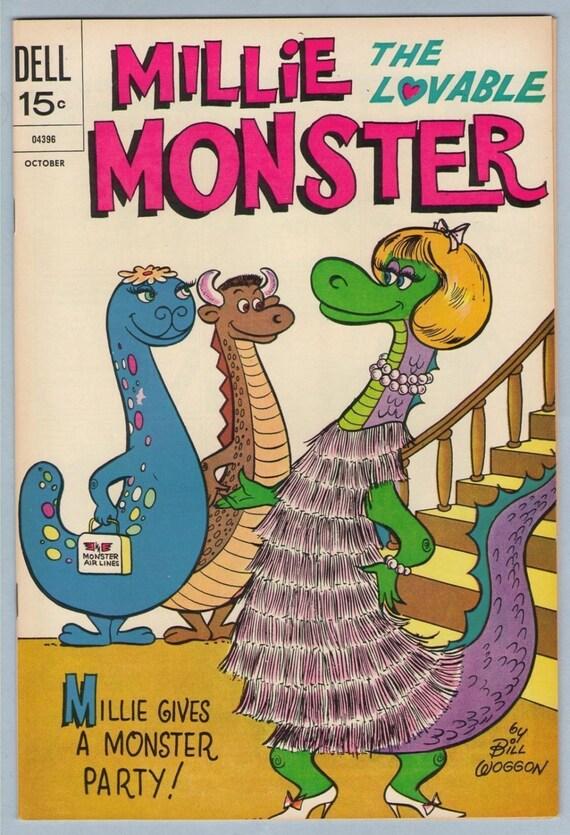 Millie the Lovable Monster 5 Oct 1972  NM- (9.2)