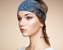 Yoga Headband,Boho Headband,Turban Headband,Womens Headband,Fitness Headband,Workout Headband,Wide Boho Headband,Running Headband,Head Wrap