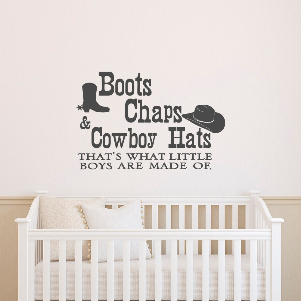 wall decals quotes boots chaps and cowboy hats thats what zoom