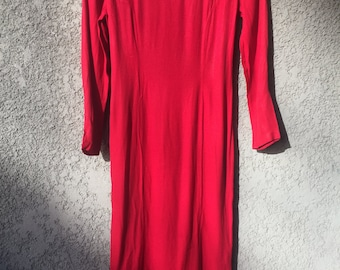 Red Jonathan Martin dress