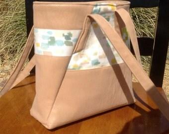 Spring purse/tote in Tan