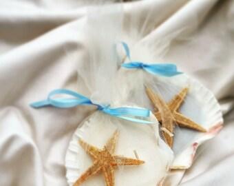 Seashell Candle Favors