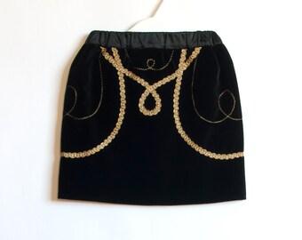 SALE Black Velvet Skirt 2T-4T Girl Toddler Skirt Girl Toddler Skirt For Toddler Skirt 4T Skirt 3T Skirt Girl Holiday