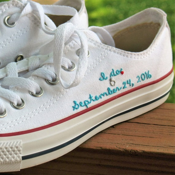 "May 27,  · I love the matching pink Chuck Taylor's on the groom, the bride and the ring bearer adorable! You can even go HERE to the Converse website to create your own custom Chuck Taylors! You start with a ""blank canvas"" shoe and then have the option to edit each part separately – from outside body to lining, stitches to laces!"