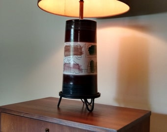 Mid Century DuNord Table Lamp