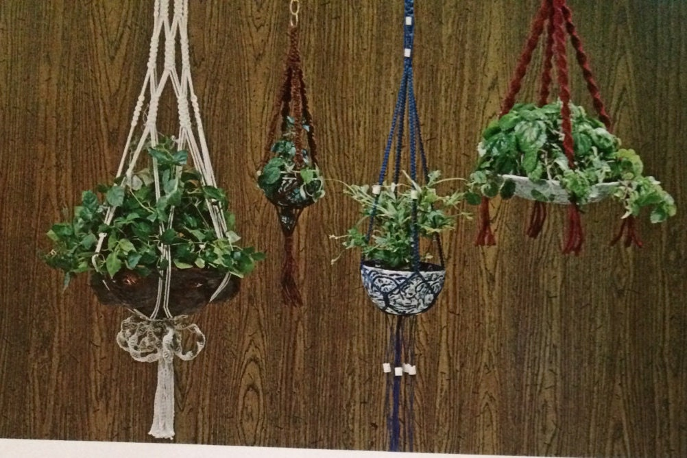 5 minute macrame plant hanger start small learn macrame for small plant hangers and 9429