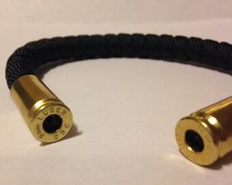 9mm Bullet Casing Paracord Bracelet