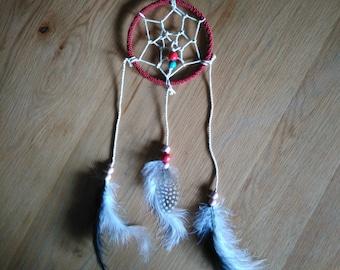 Dream catcher (catcher nightmare or dream catcher) Red