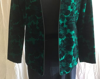 Vintage Cotton Velvet Jacket
