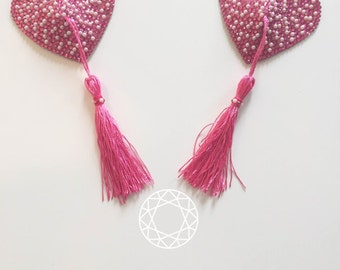 Pink and Pearl Barbie Insipred Nipple Pasties