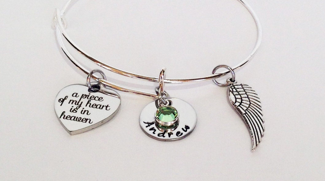 memorial jewelry sympathy gift in loving memory of