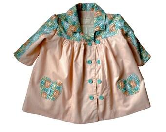 Summer-to- autumn  three quarter sleeve Girls jacket