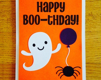 happy birthday card happy boo thday halloween birthday card funny - Happy Halloween Birthday