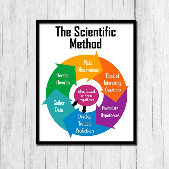 scientific method poster