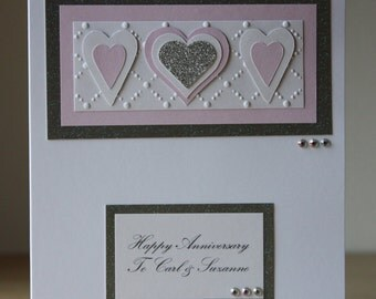Personalised Anniversary/Wedding Card