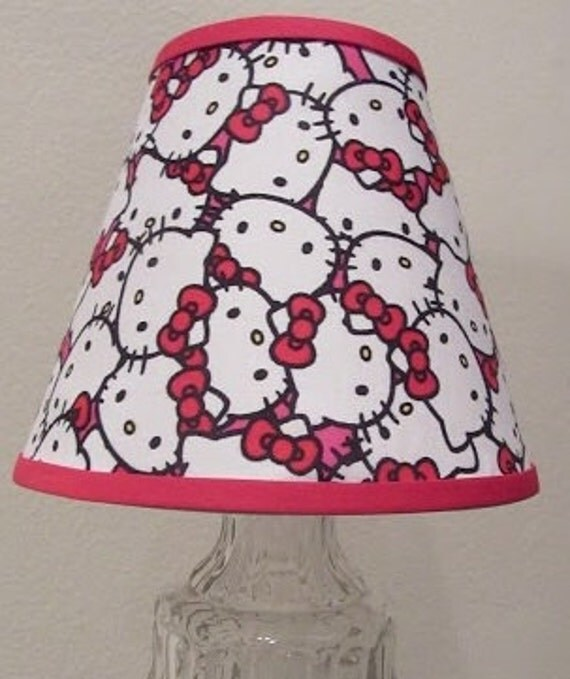 hello kitty lamp shade. Black Bedroom Furniture Sets. Home Design Ideas