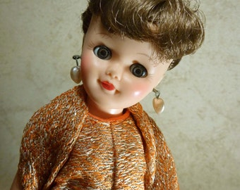 NOW 50% OFF!! Vintage 1958 Vogue Fashion Jan (I think) Doll-Wonderful Condition!