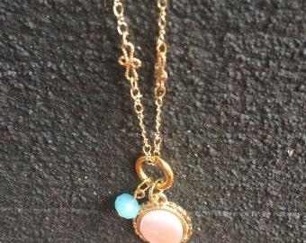 Delicate Pendant Charm Necklace