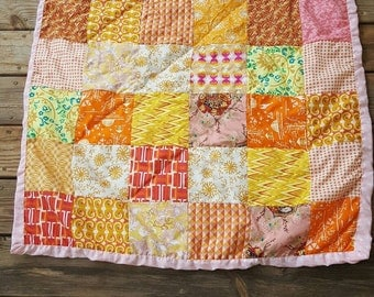Sunset Baby Girl Quilt