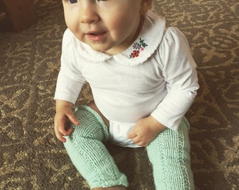 Baby Legwarmers, Knit Leg warmers for Baby, Toddler Legwarmers, Color Choices, Newborn to 24 months