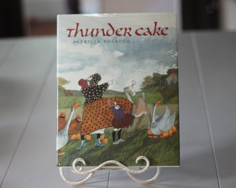 Thunder Cake Written and Illustrated by Patricia Polacco 1990 Hardcover