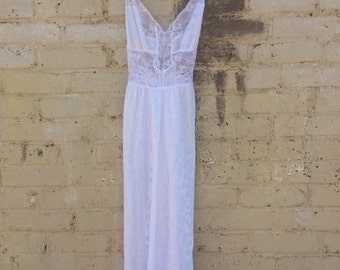 Silk Lace Night Gown