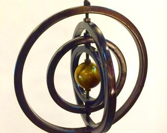 Steel Mobile, Modern OUTDOOR Sculpture, Garden art, Hanging art,  Outdoor Sculpture, Gift for Her, Metal art, Yard art