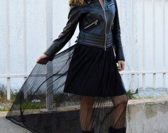Everyday Pleated Maxi Skirt, Maxi Black Skirt, Plus Size Casual Maxi Skirt, Oversized Long Skirt, Elegant Maxi Skirt, Maternity Skirt