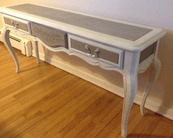 SOLD:  French Provincial Sofa Table or Side Table or Console
