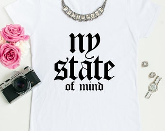 New York state of mind tees.