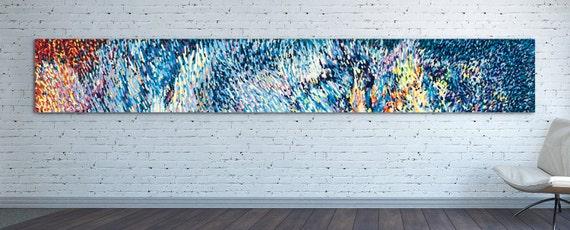 horizontal canvas print extra long horizontal by natalyborichart. Black Bedroom Furniture Sets. Home Design Ideas