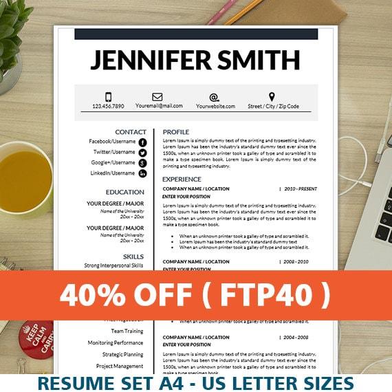 Resume com coupon code