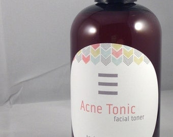 Acne Tonic (a facial toner for acne prone skin) 8 ounces
