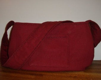 Little Dog Carrier Sling Bag -Burgundy