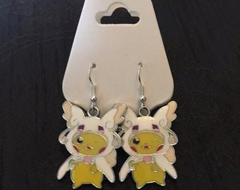 Silver Plated Nintendo Pokemon Cosplay Pikachu Mega Audino
