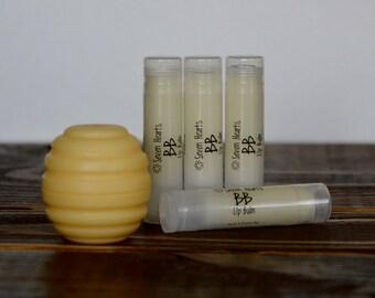Burts Type Lip Balm - All Natural Lip Balm - Beeswax Lip Balm - Unsweetened Lip Balm