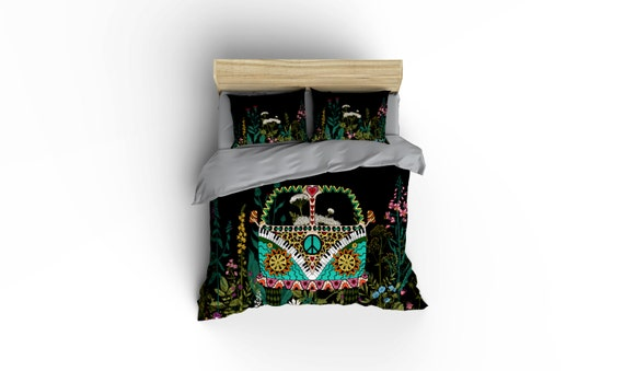Hippie Van VW Duvet Covers Home Decor Bedding Comforter