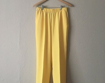 Buttercream Yellow Pants