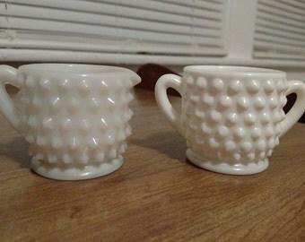 Miniature Creamer & Sugar Bowl Set