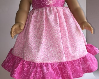 "SUNDRESS for 18"" Doll and fits American Girl"