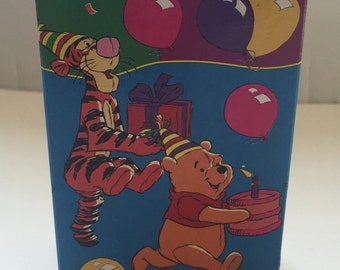 Winnie the Pooh and Friends Vintage Mini Favor Boxes 4ct