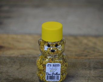 Pure and Natural Raw Texas Bee Pollen Bear
